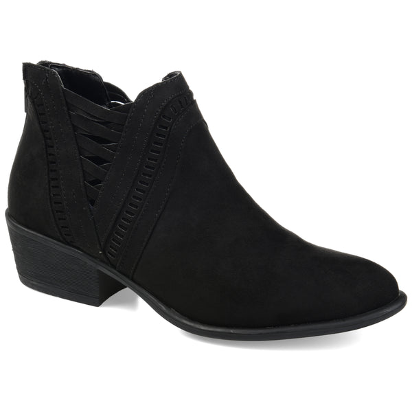 Woven Cut-out Bootie