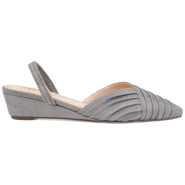 Wraped Sling-Back Wedge