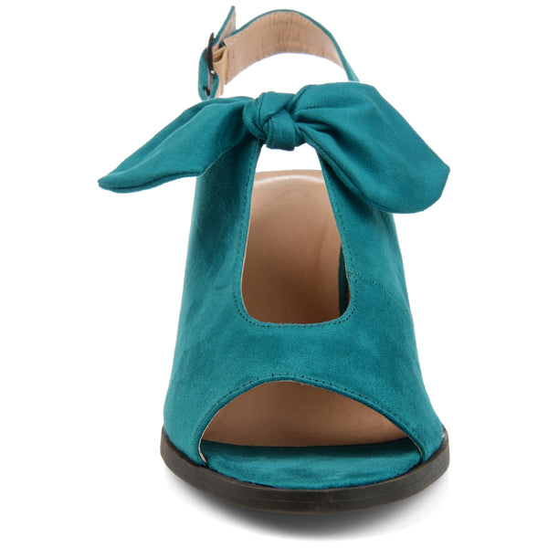Bow Accent Peep Toe Sandal