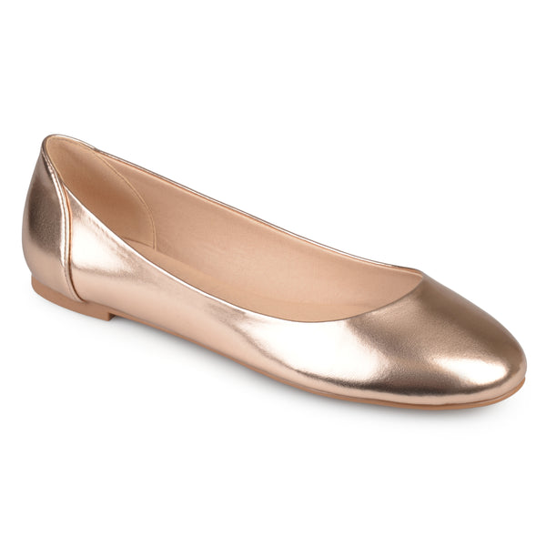 Round Toe Comfort Sole Flats
