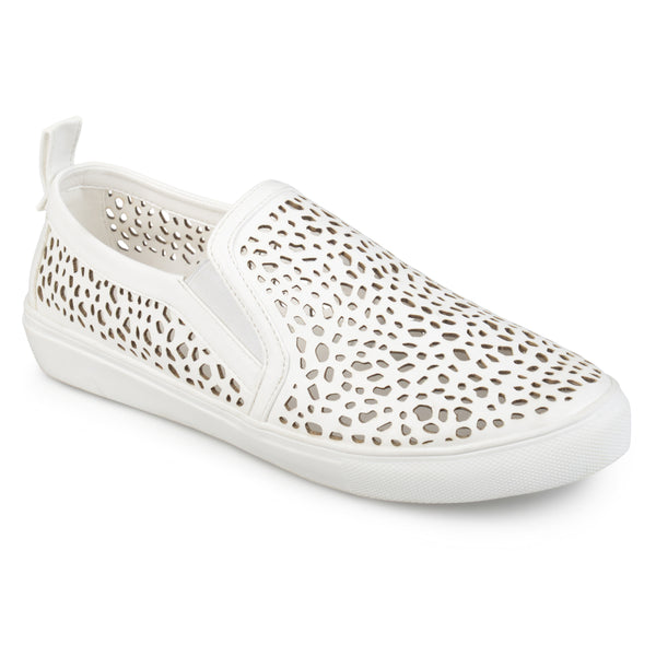Laser-cut Pull-on Sneakers