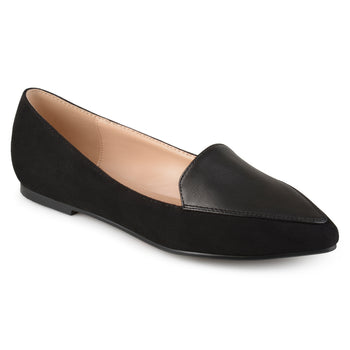 Pointed Toe Loafer Flats