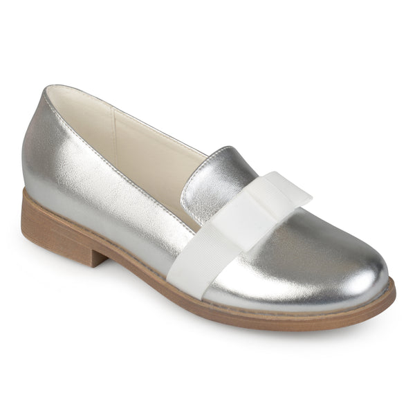 Ribbon Bow Loafer Flat
