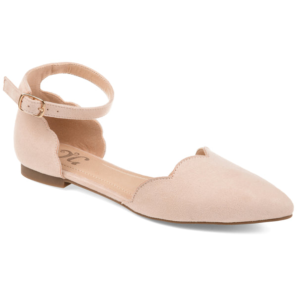 Dainty Scalloped Flat
