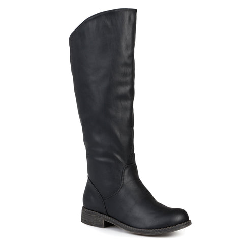 Wide Calf Classic Riding Boot