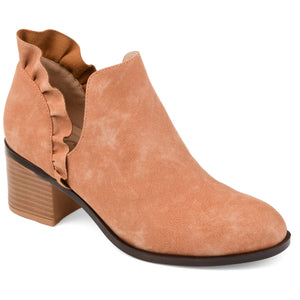 Ruffle Accent Bootie