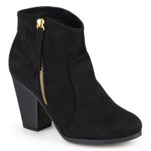 Tall Zipper Ankle Bootie