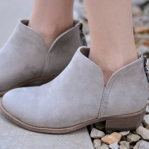 Comfort Sole Tassel Booties