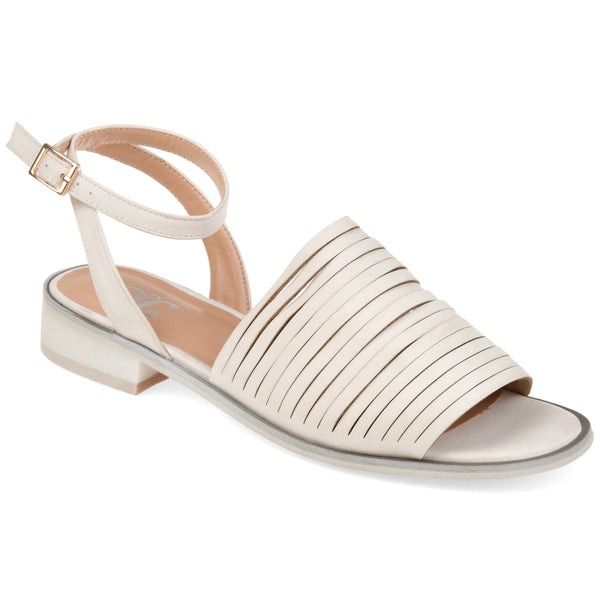 Strappy Ankle Buckle Flat