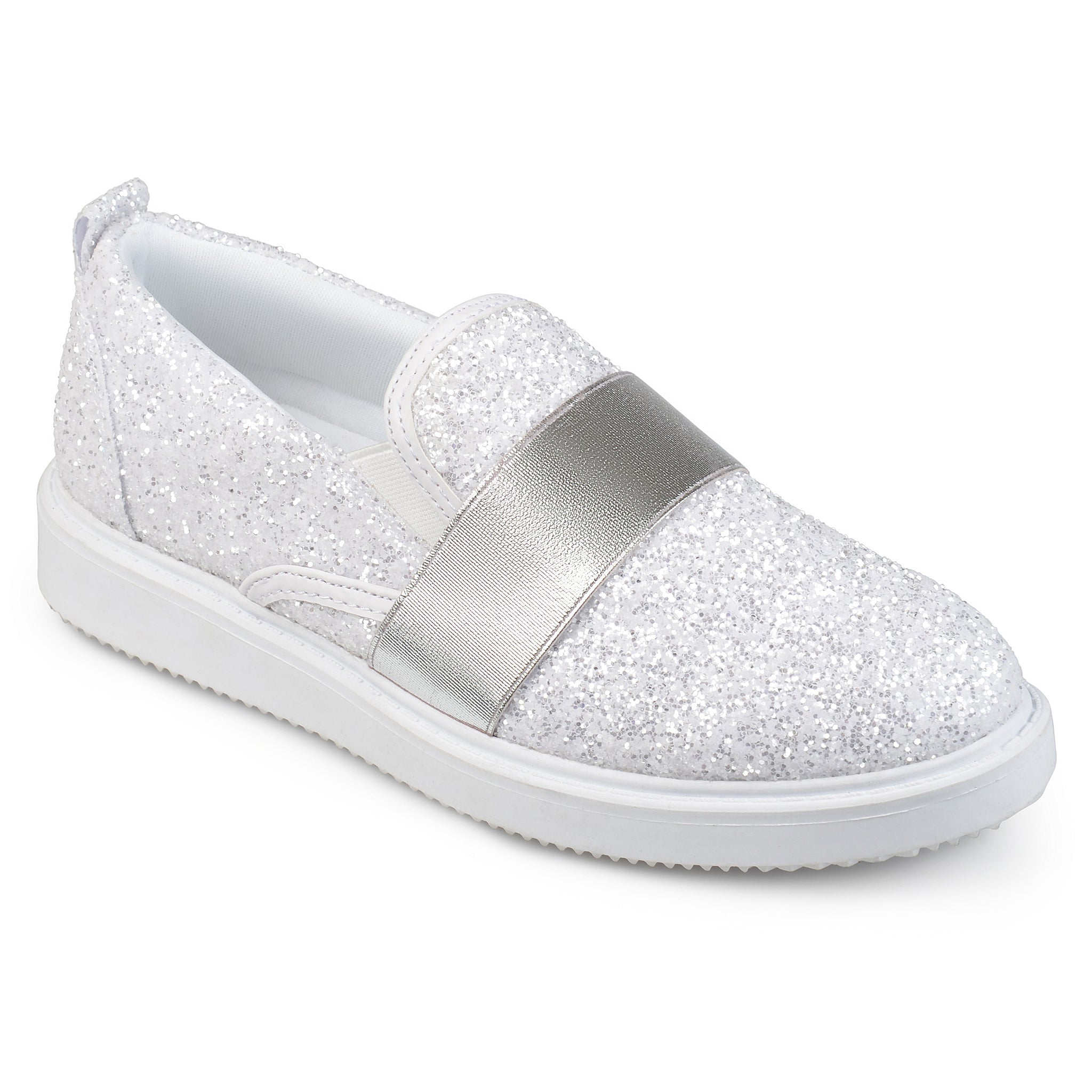 Glitter Slip-on Sneakers