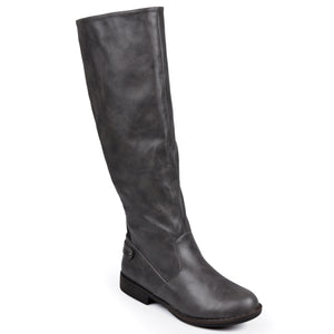 Stretch Knee-High Riding Boot