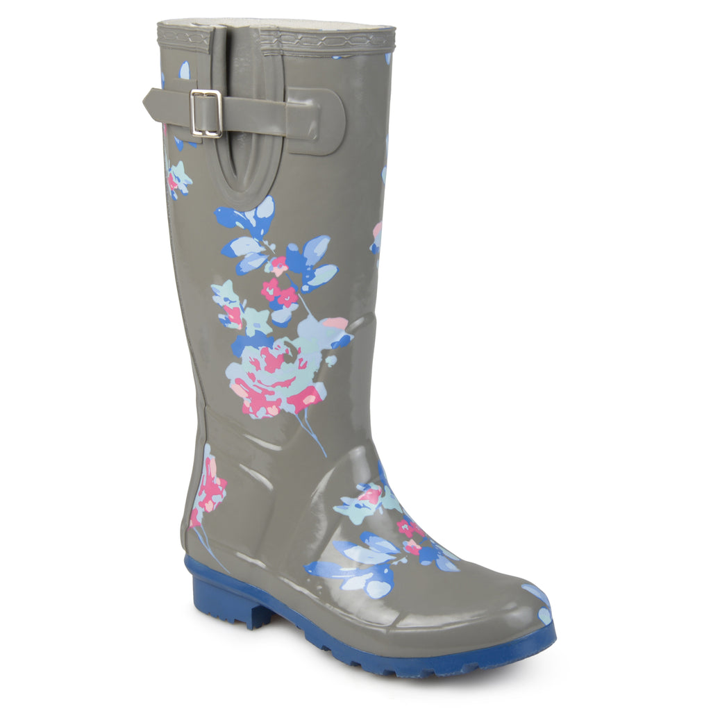 Patterned Rain Boots