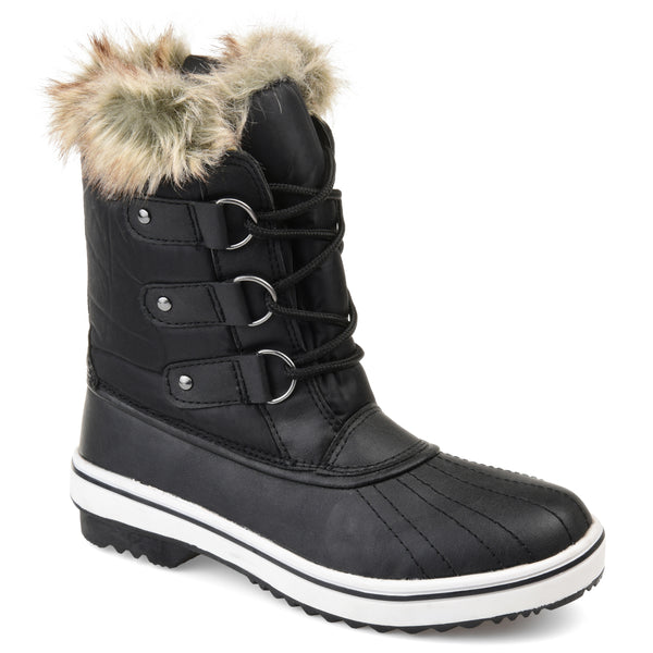 Waterproof Faux Shearling Duck Boot