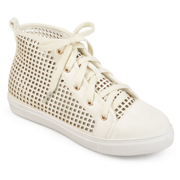 Lasercut Hightop Sneakers