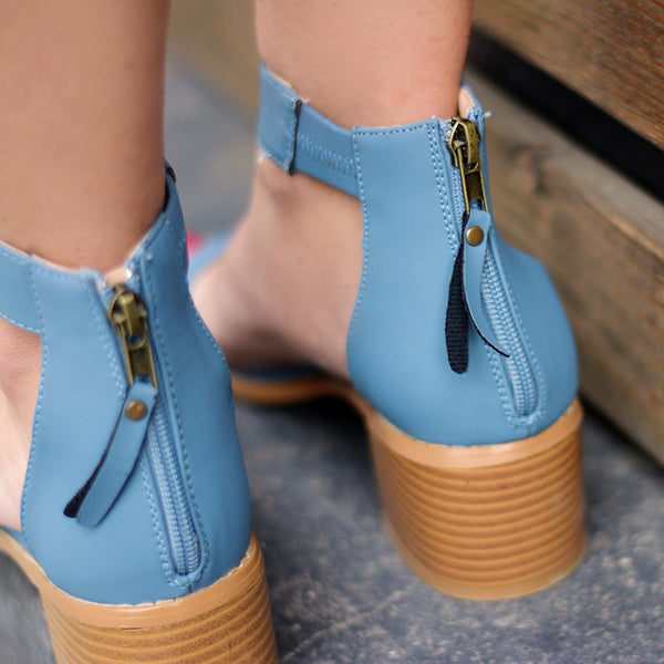 Ankle Strap Tassel Sandals
