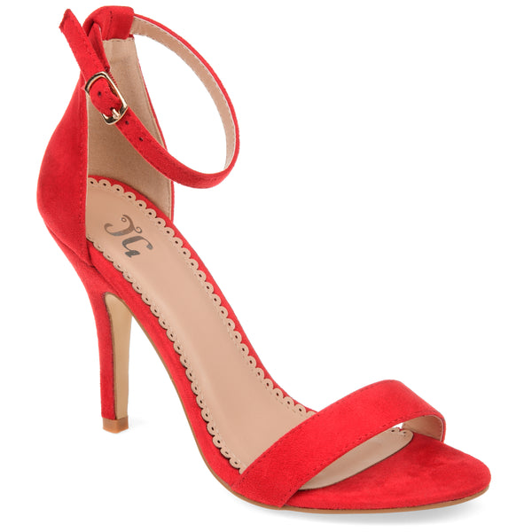 Sultry Open Toe Stiletto Pump