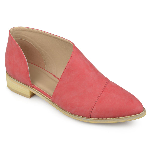 D'orsay Almond Toe Flats