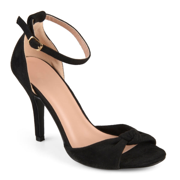 Ankle Strap Knot High Heels