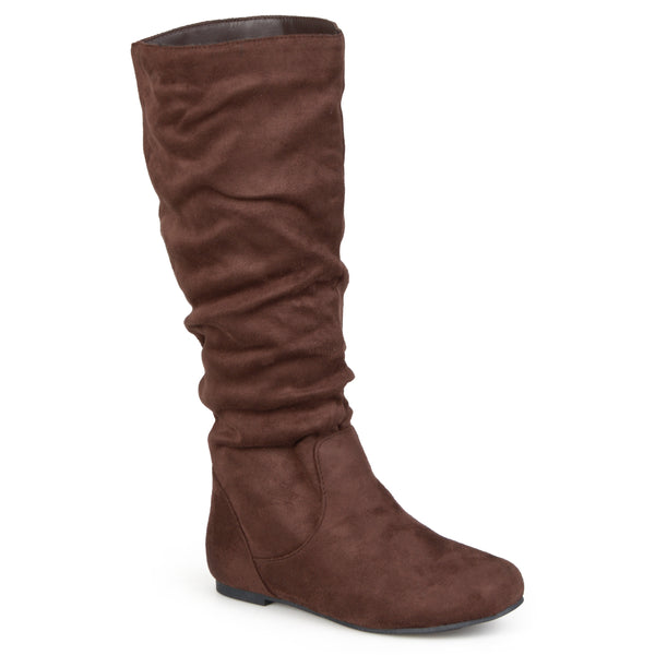 Slouch Knee-High Microsuede Boot