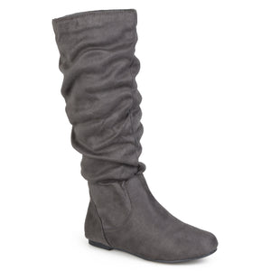 Classic Faux Suede Slouch Boot
