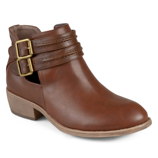 Side Split Buckle Booties