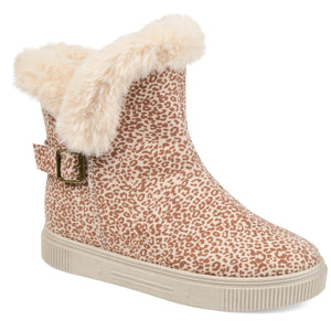 Faux Fur Lined Winter Boot