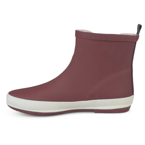 Sporty Solid Color Rubber Rainboots