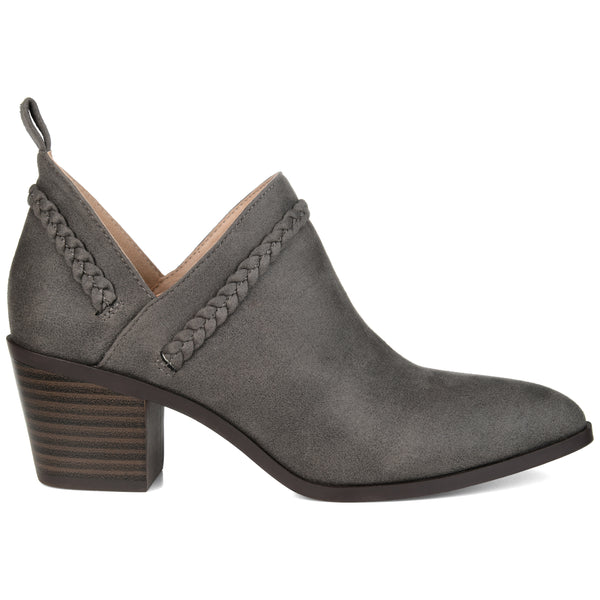Braid Accent Ankle Bootie