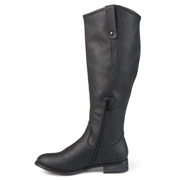 Classic Dress Riding Wide Calf Boot
