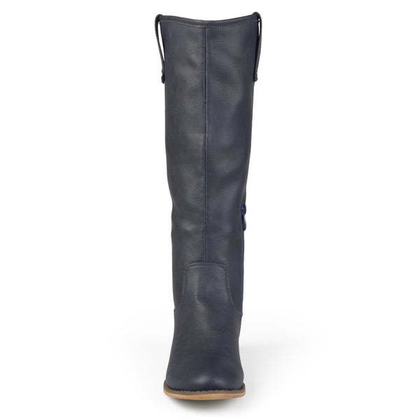 Classic Dress Riding Extra Wide Calf Boot