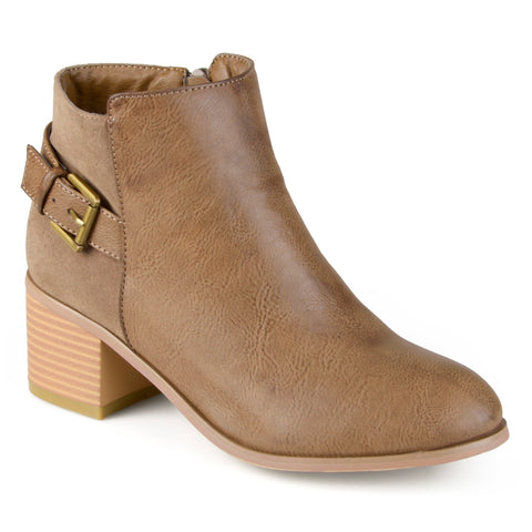 Buckle High Heel Booties