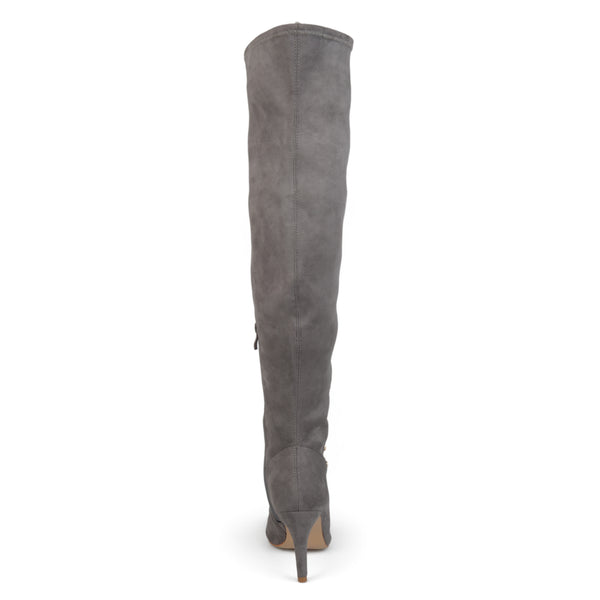 Wide Calf Over-The-Knee Vintage Boots
