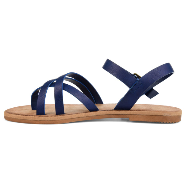 Strappy Ankle Wrap Sandal