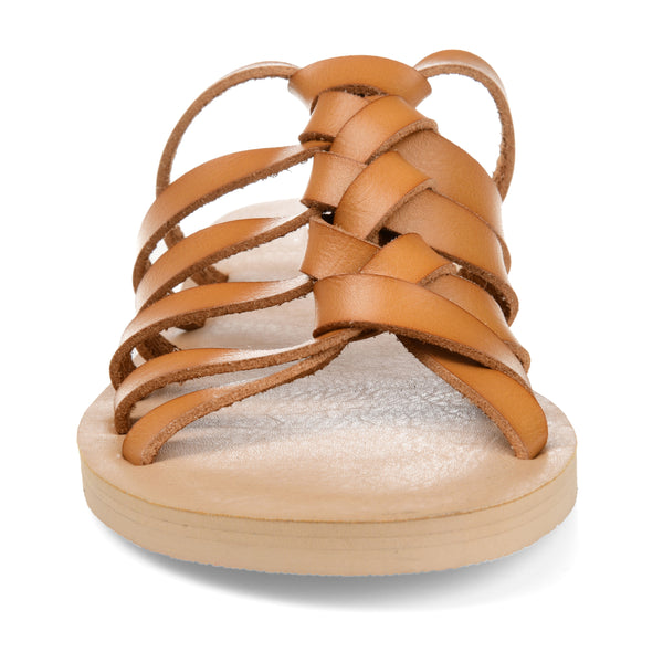 Knotted Slip-on Sandal