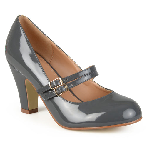 Mary Jane Double Buckle Pump