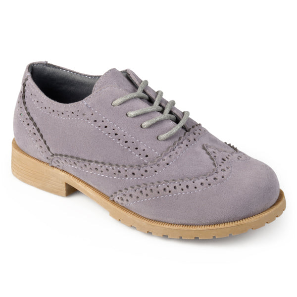 Lace-up Wingtip Oxfords