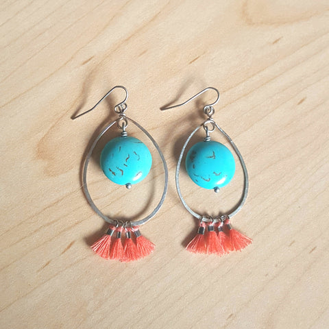 Flirty Tickle Tassle Earrings