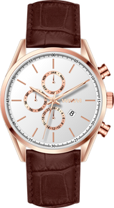 OSLO ROSE GOLD CARAMEL 42MM