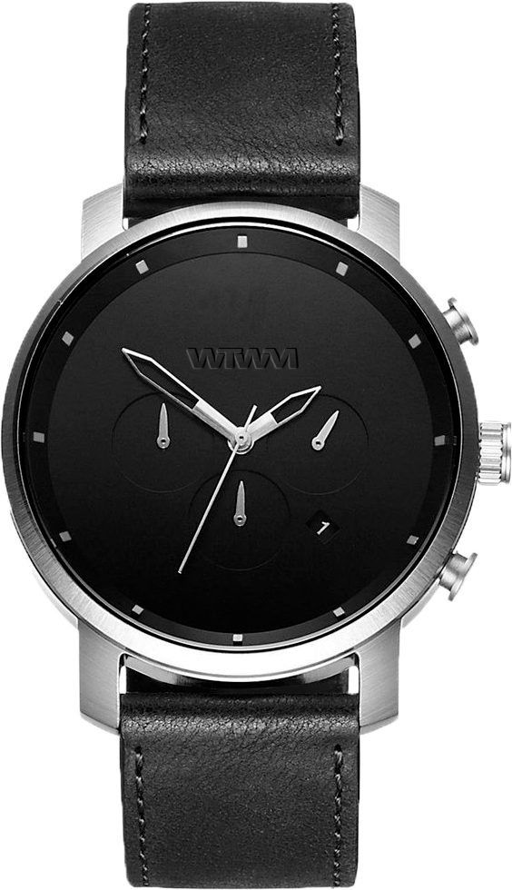 TRYSIL CLASSIC SILVER BLACK 44MM