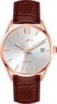 BERGEN ROSE GOLD CARAMEL 42MM