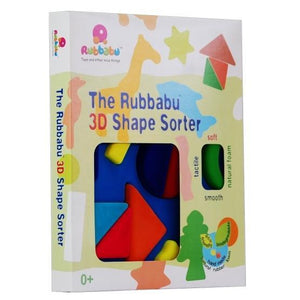 Rubbabu 3D Shape Sorter Geometrical Shapes Shape Sorter