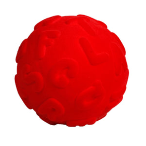 Rubbabu Alphalearn Ball Red Ball