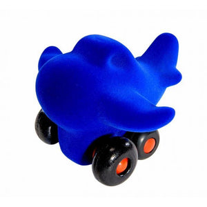 "Rubbabu Charles the Little Airplane - Blue (5"") Vehicle"