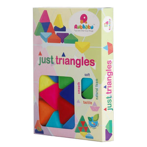 Rubbabu Just Triangles Blocks