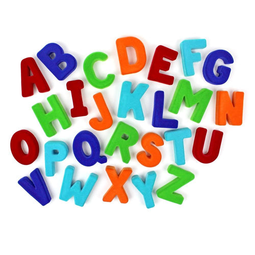 Rubbabu Large Magnetic Uppercase Alphabets 4