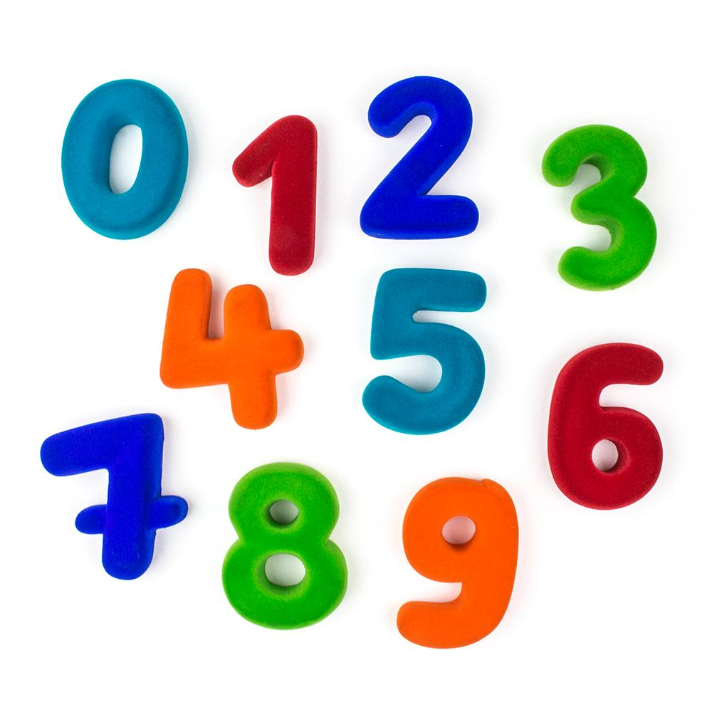 Rubbabu Numerals (Magnetic) 4