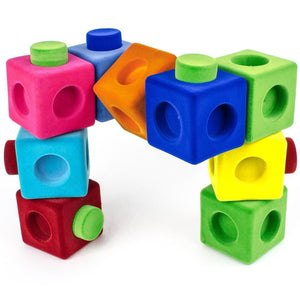 Rubbabu Rubbablox Building Blocks (9 pcs) Blocks