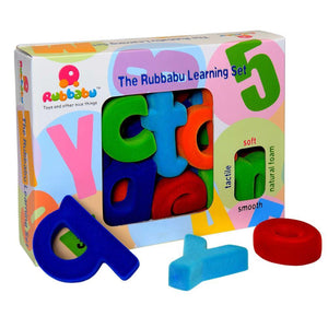 "Rubbabu Small Lowercase Alphabets 2.5"" (6cm) Alphabet Set"