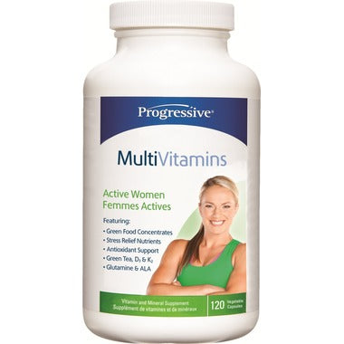 Progressive MultiVitamins Active Women