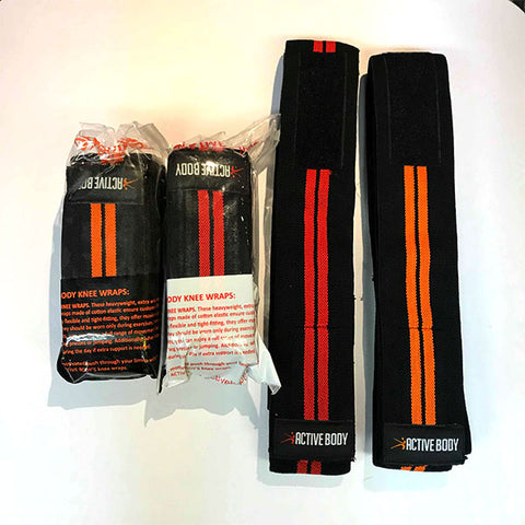 Active Body Knee Wraps
